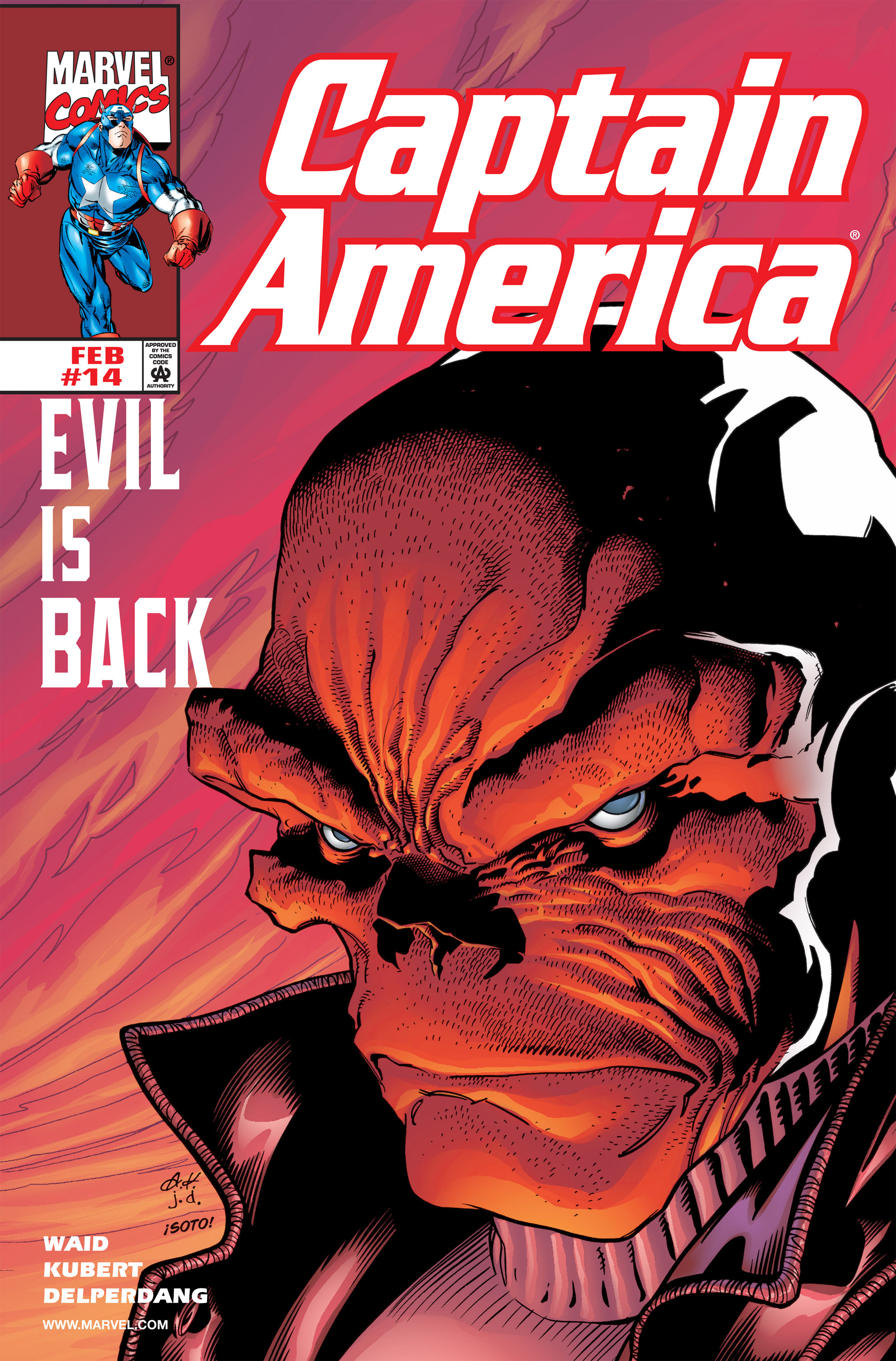 Captain America (1998) 14 Page 1