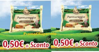 Logo Parmareggio: stampa anche 2 coupon Fettine al Parmigiano Reggiano