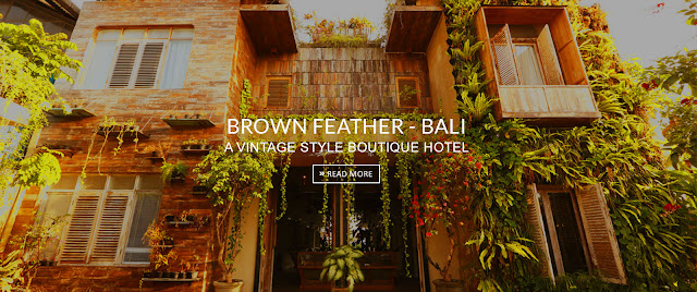 Brown Feather Bali