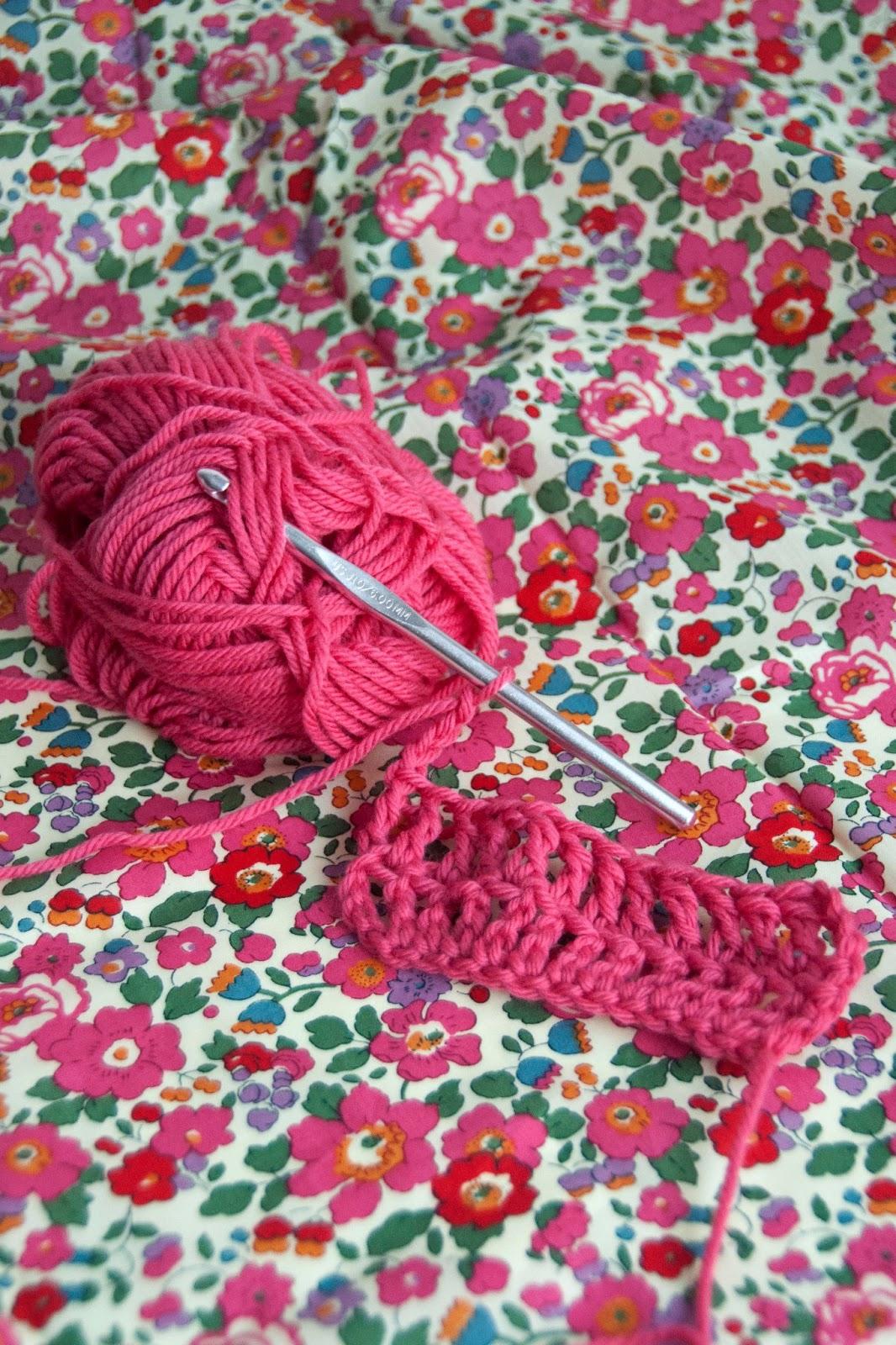 Aesthetic Nest: How to Crochet 9: The Triple Crochet