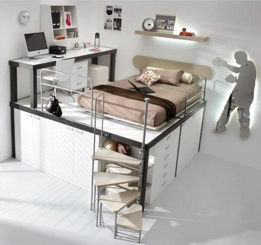 chambre d 39 ado 7 id es d co pour am nager une chambre de fille d coration de meuble. Black Bedroom Furniture Sets. Home Design Ideas