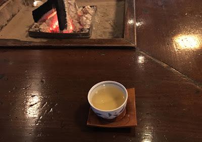 貝掛温泉 メグスリノキのお茶