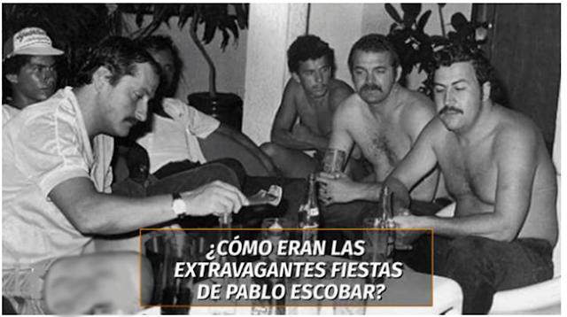 """""""SEXO,DROGA y ROCK & ROLL"""" en BACANALES del CAPO ESCOBAR"""