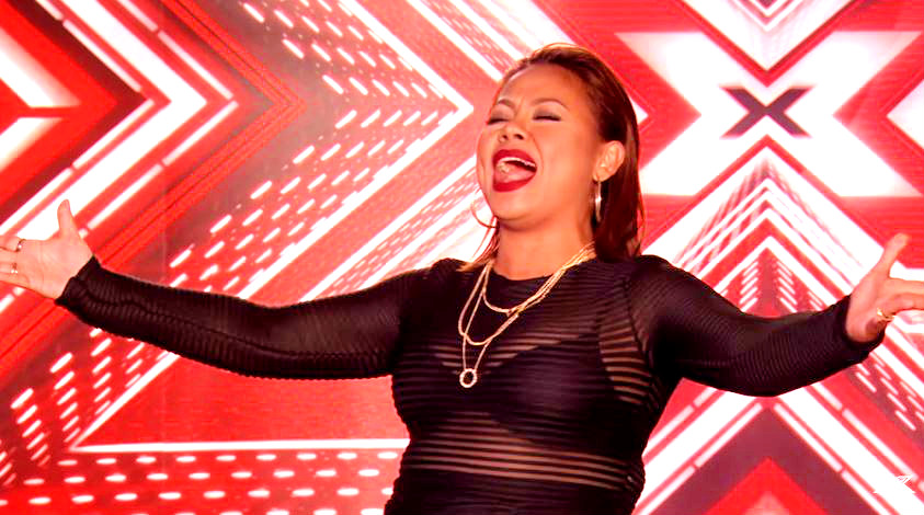 Filipina Singer Ivy Grace Paredes wows all judges of X Factor UK 2016