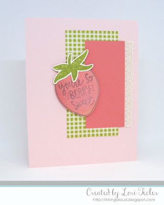 So Berry Sweet card-designed by Lori Tecler/Inking Aloud-stamps and dies from Reverse Confetti