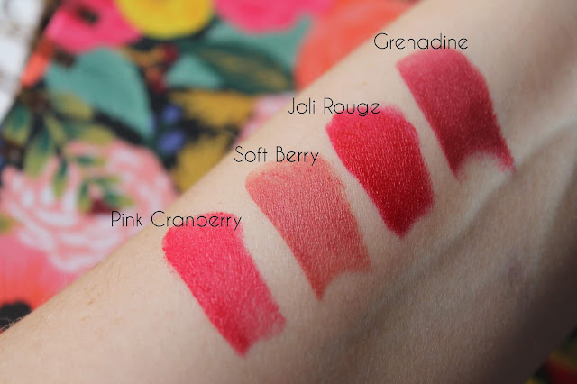 Clarins Joli Rouge Velvet Lipsticks
