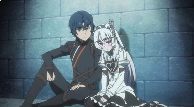 Hitsugi no Chaika - Daftar Rekomendasi Anime Action Romance Terbaik