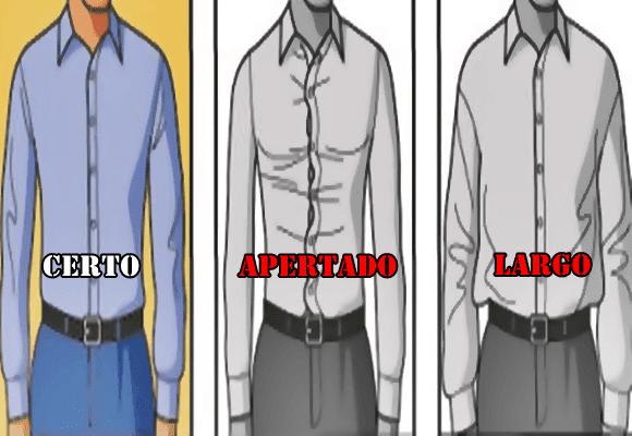 Elegância-camisa-cintura