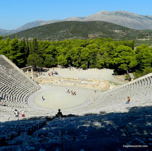 Teatro de Epidauros, Grécia