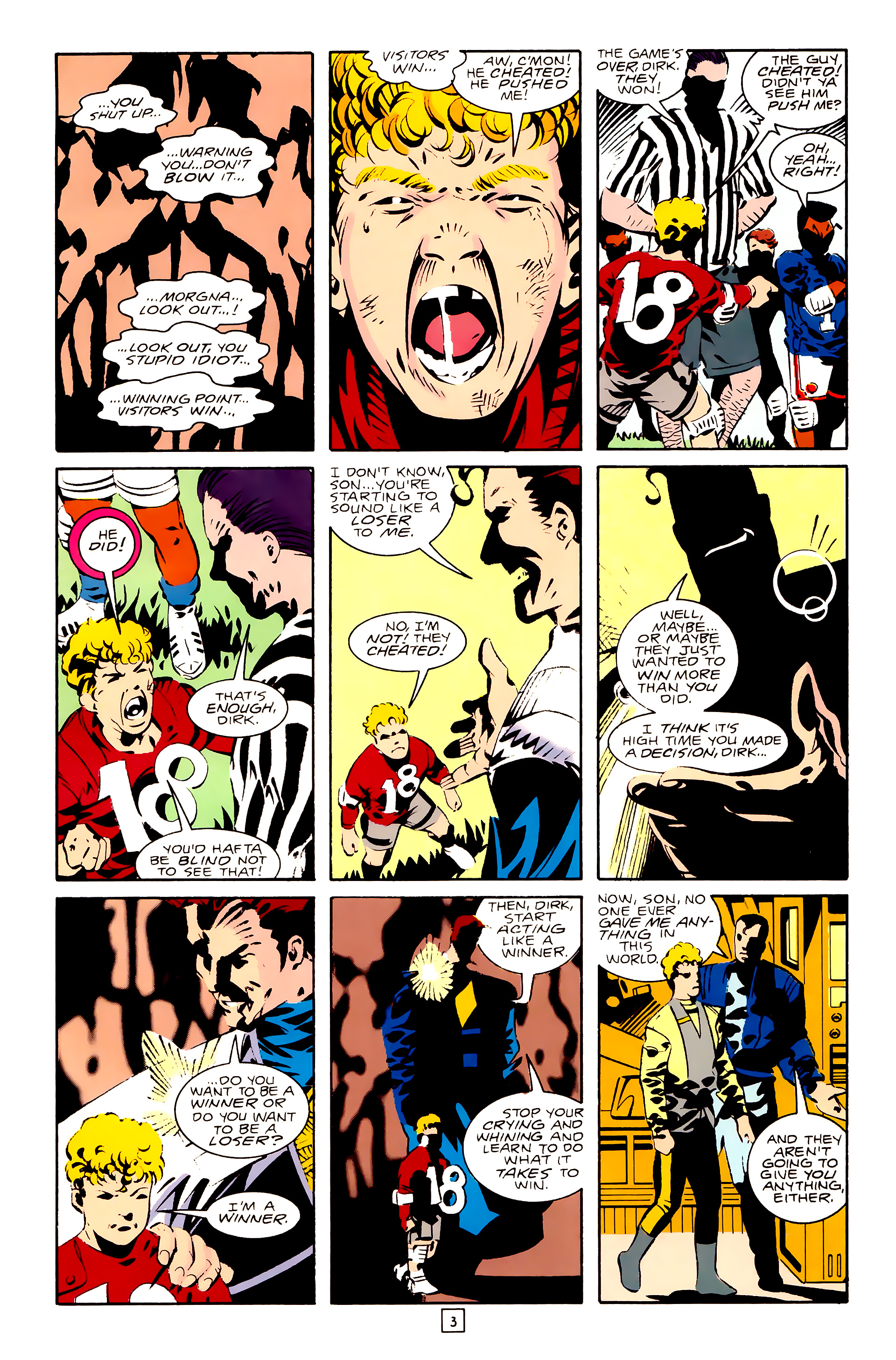 Legion of Super-Heroes (1989) 28 Page 3