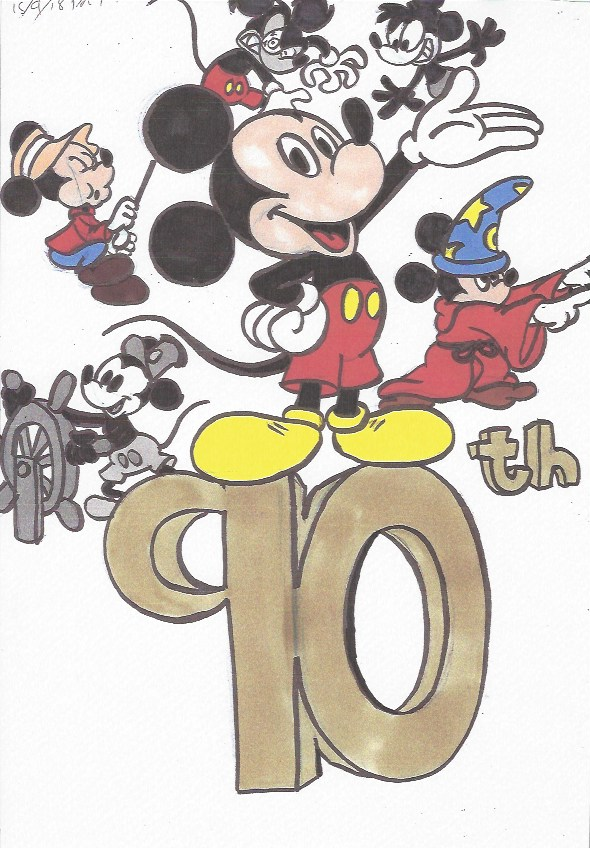 Animated Heads Mickey39s 90th Birthday