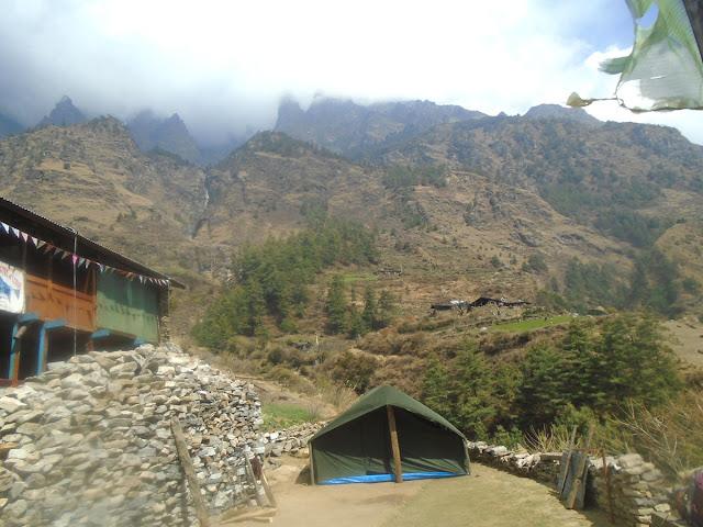 Manaslu trekking areas