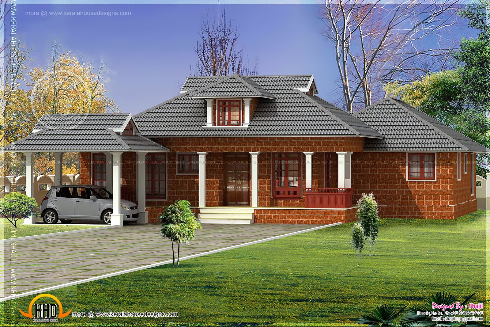 Laterite house design in Nalukettu style - Kerala home ... on kerala home design and floor plans, indian house designs and floor plans, kerala home designs two storey houses, industrial style house plans, kerala style houses 1600 square foot, habitat style house plans, 30x60 house floor plans,
