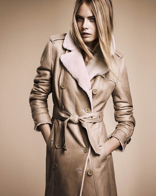 Burberry Nude Fall 2011 Collection: Cara Delevingne