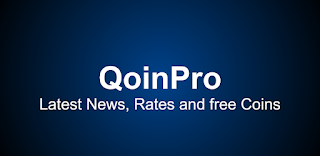 Qoin Pro : Receive free BTC, LTC, DASH, BCH, plus many more every day.