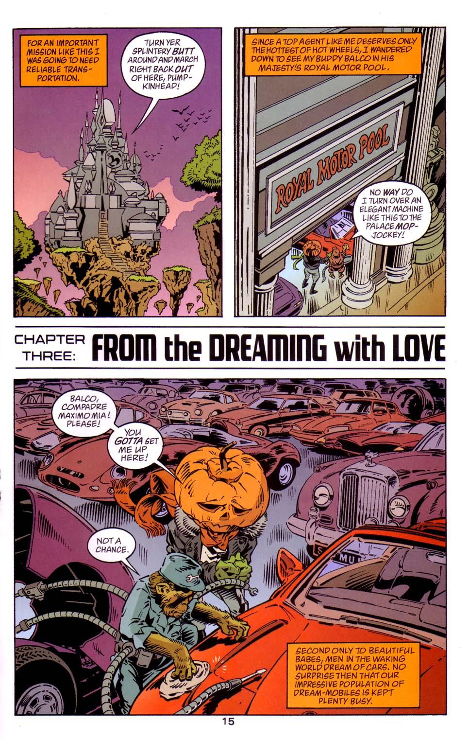 Read online Merv Pumpkinhead, Agent of D.R.E.A.M. comic -  Issue # Full - 16