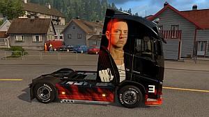 Eminem Volvo 2012 skin