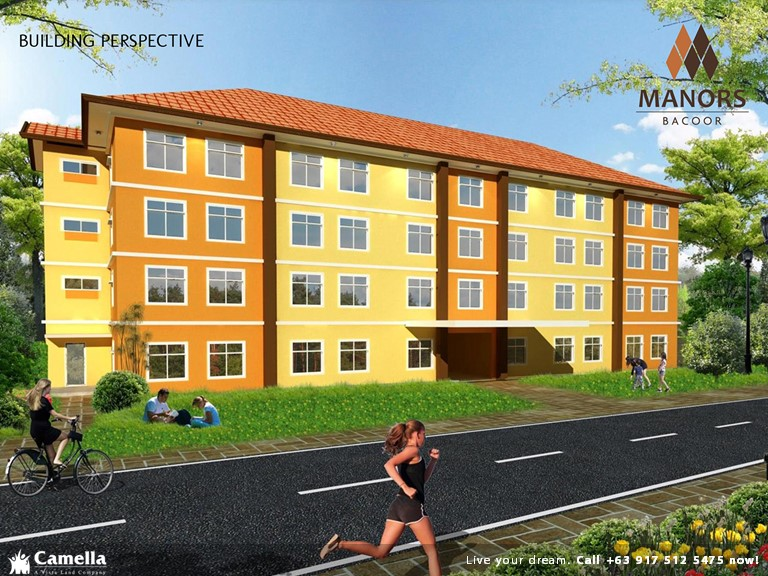 Studio 22.75 Sqm - Manors Bacoor | Condo for Sale Bacoor Cavite