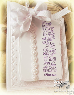 Our Daily Bread Designs, Scripture Collection 6, Betty Wright