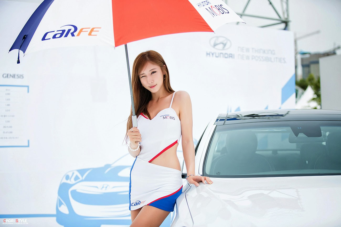4 Cheon Bo Young - Korea Speed Festival 2014 - very cute asian girl-girlcute4u.blogspot.com