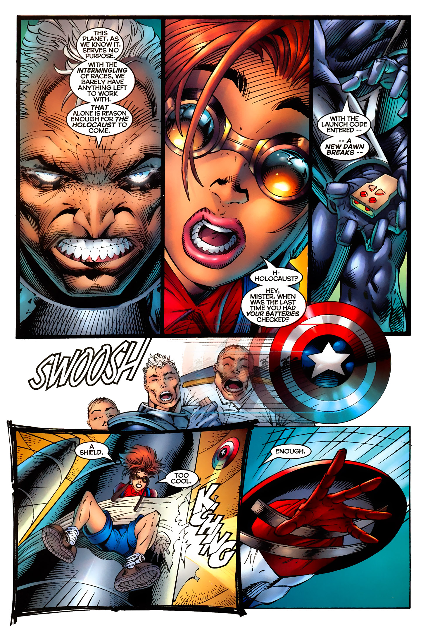 Captain America (1996) Issue #5 #5 - English 15