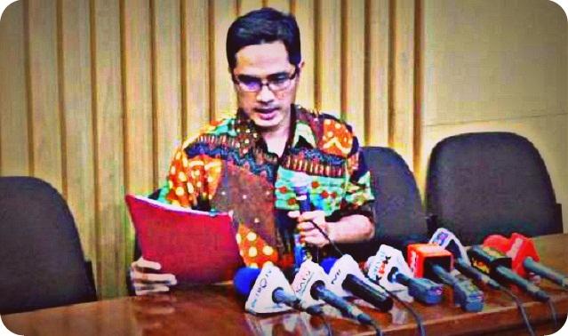KPK Tetapkan Mikael Kambuaya Sebagai Tersangka Korupsi Pembangunan Jalan Kemiri - Depapre