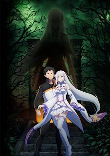 Ilustração Promocional: Re:Zero Segunda temporada