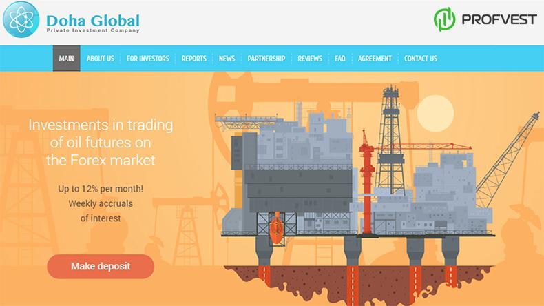 Doha Global обзор и отзывы вклад 400$