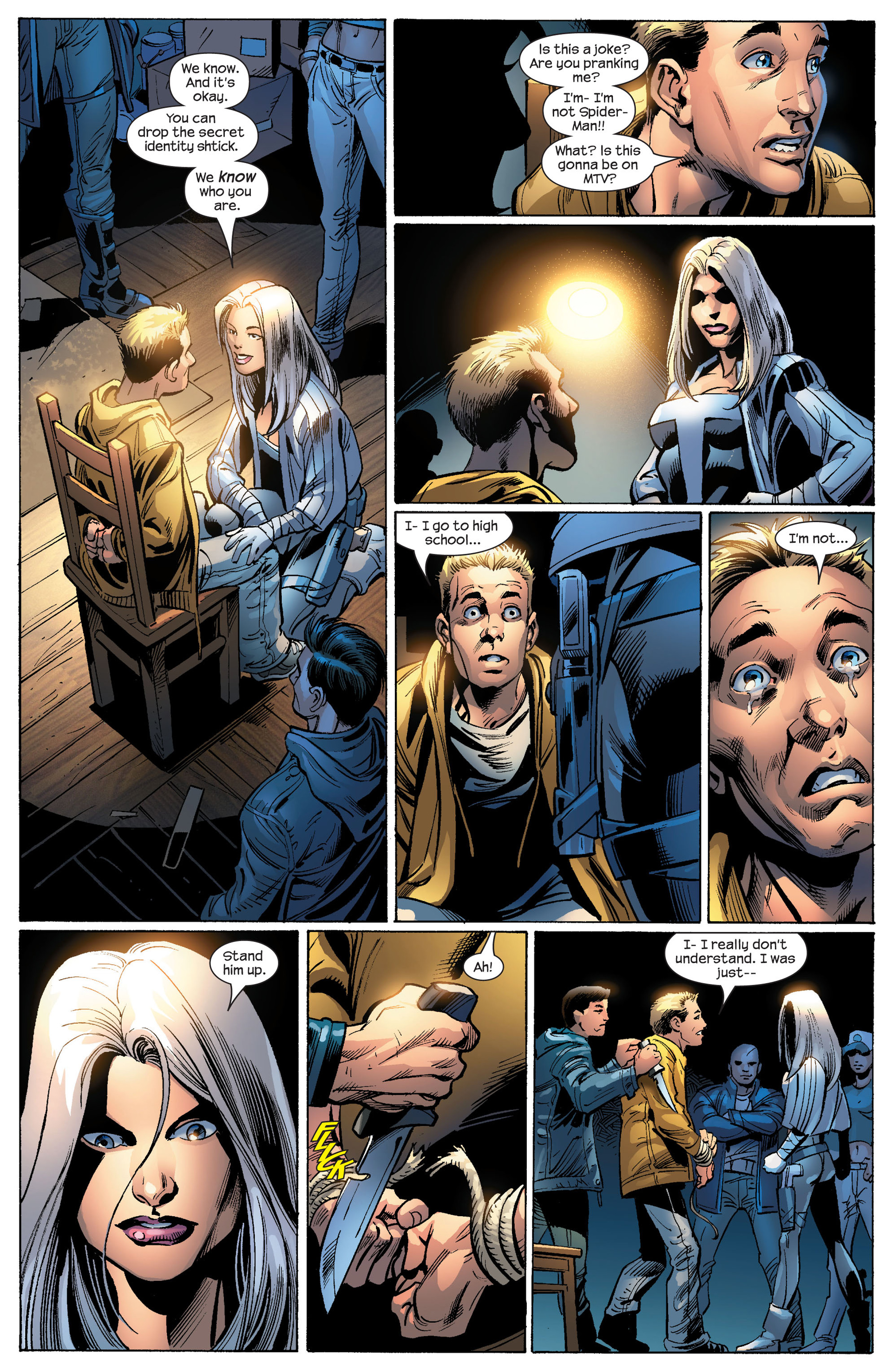 Read online Ultimate Spider-Man (2000) comic -  Issue #86 - 22