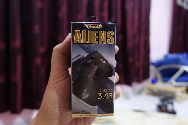 (Ulasan) Remax Alien USB Car Charger