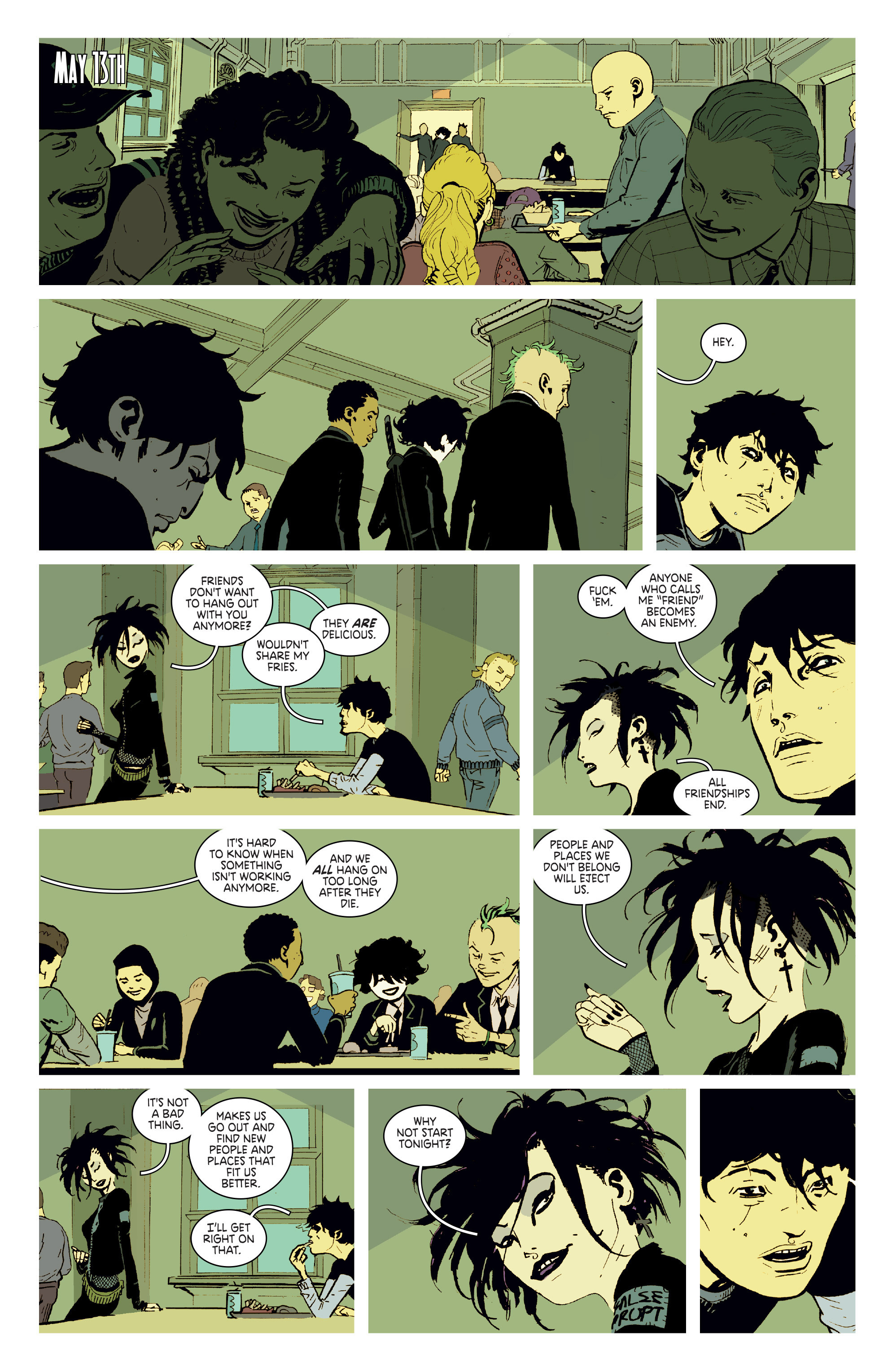 Read online Deadly Class comic -  Issue # _TPB 3 - 64