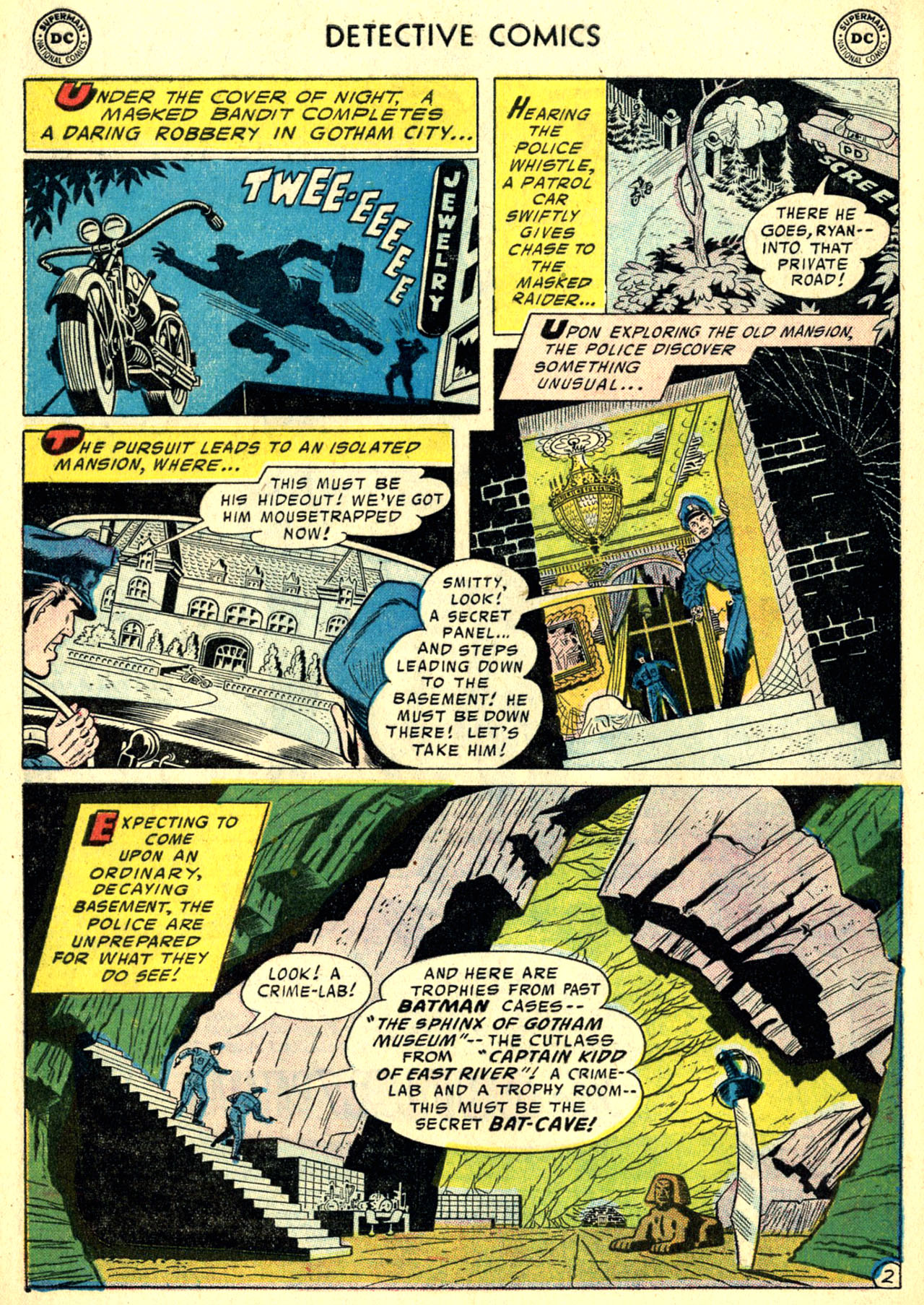 Read online Detective Comics (1937) comic -  Issue #240 - 4