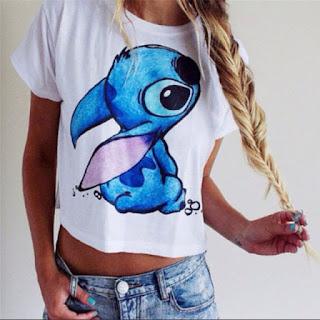 camiseta lilo e stitch