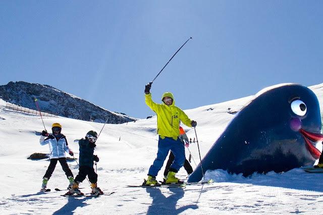 Estação de Esqui na Sierra Nevada