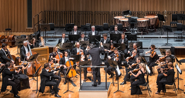 Vladimir Jurowski & the London Philharmonic Orchestra at Saffron Hall - photo Roger King