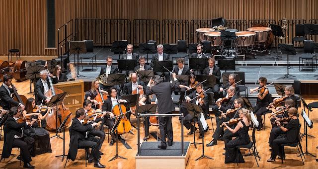 Vladimir Jurowski & the London Philharmonic Orchestra at Saffron Hall - photo Roger King