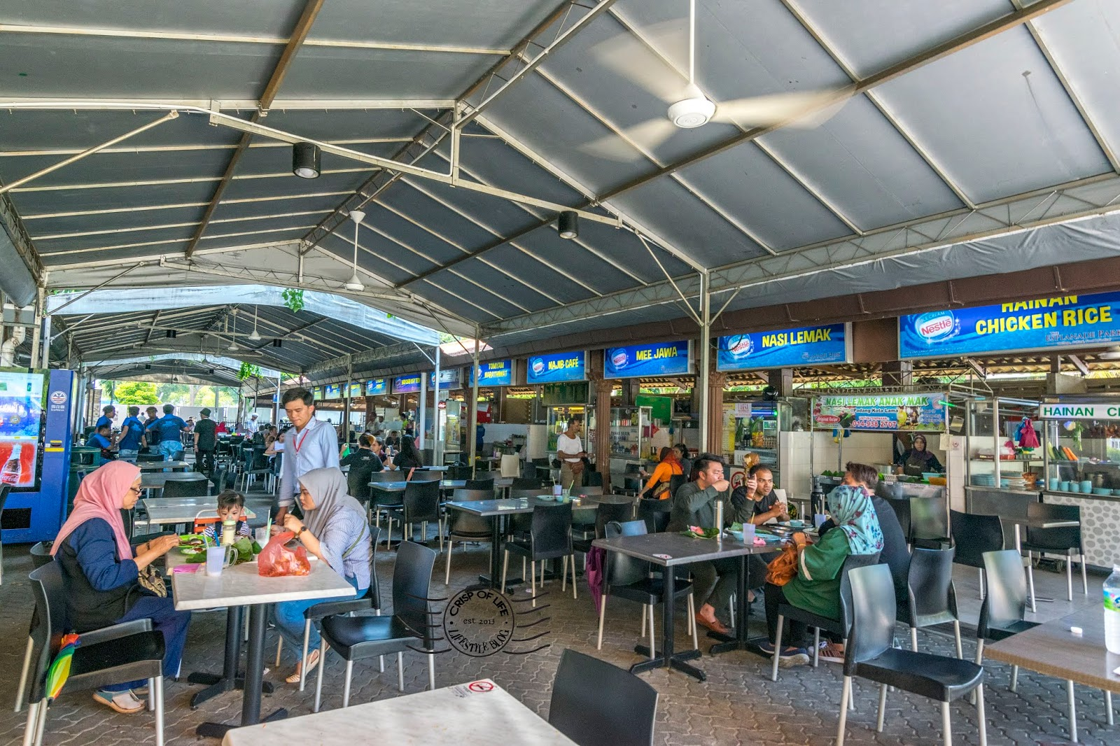 Food Trail at Esplanade, Padang Kota Lama, Penang