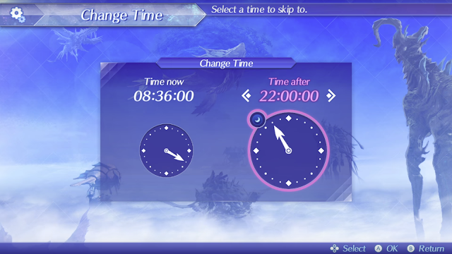 Xenoblade Chronicles 2 Direct change time clock