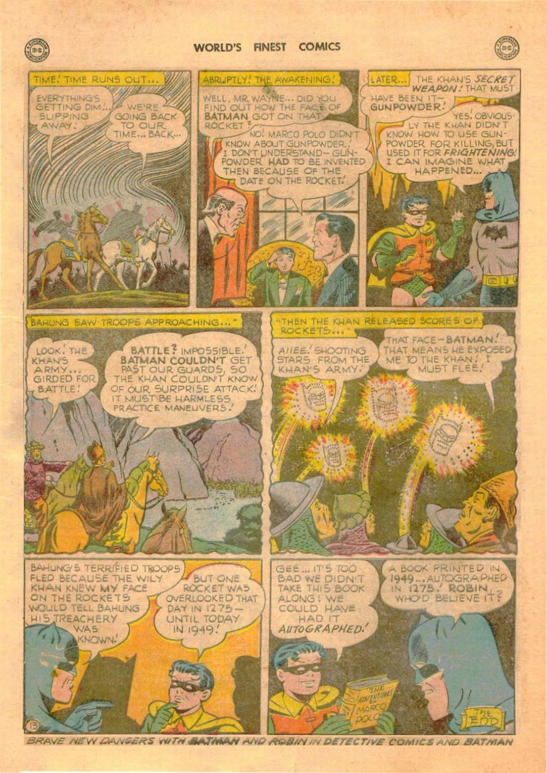 Read online World's Finest Comics comic -  Issue #42 - 74