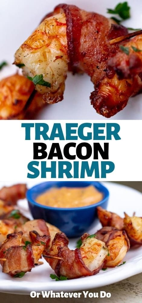 Traeger Bacon-Wrapped Shrimp