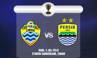 PSKC Cimahi vs Persib Bandung