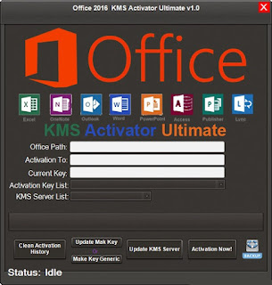 Office 2016 crack | KMS Activator Ultimate ver 1.2