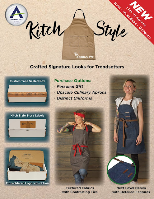 New Kitch Style Aprons & Gift Line