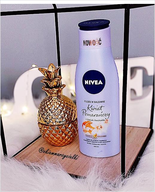 Olejek w balsamie Kwiat Pomarańczy i Olejek Awokado| Balsam aktywujący opaleniznę z filtrem spf 30| Nivea (Sun)- recenzja #68