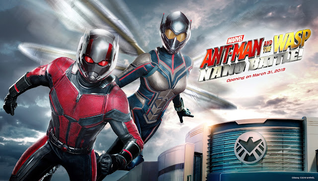 Hong Kong Disneyland's Ant-Man and The Wasp: Nano Battle! set to open on March 31, 2019