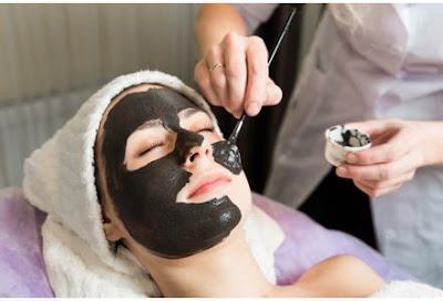 Charbon activé - masque detox pour le visage