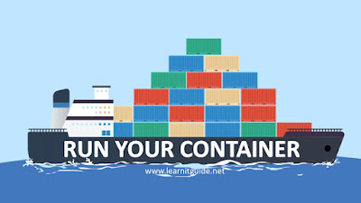 run docker container