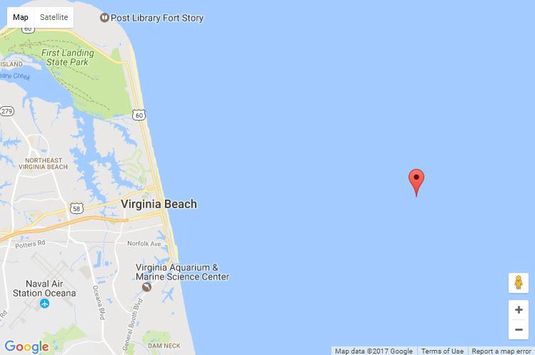 Hampton Roads Naval Museum June - Us navy map blue submerged