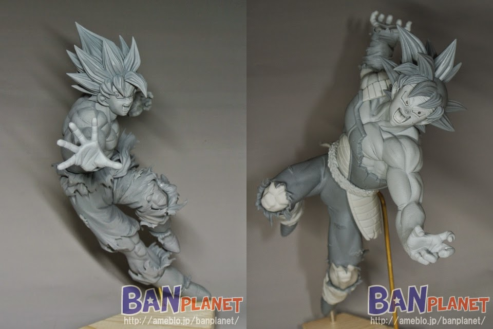 Son Goku Super Saiyan e Bardock by Banpresto