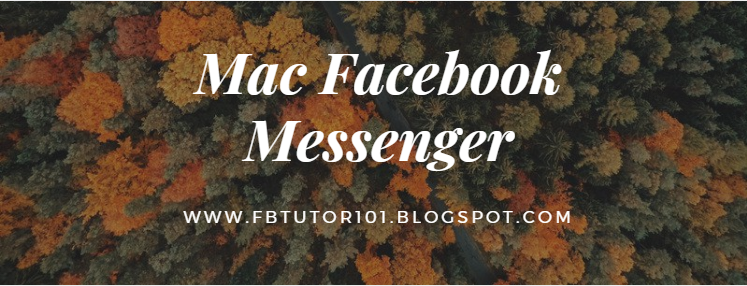 Mac Facebook Messenger
